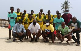 Lagos agog as Pinnick kicks off new Nigeria Beach Soccer League