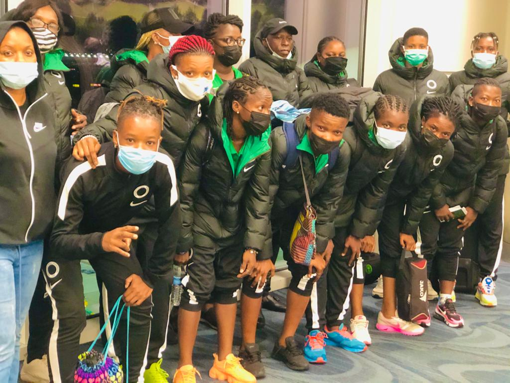 Super Falcons land in America for Summer Series
