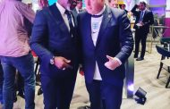 PHOTO NEWS: NFF President/FIFA Council Member, Mr Amaju Pinnick (left) chats with British Prime Minister, Boris Johnson at the VVIP sanctum of Wembley Stadium on Sunday, during the Euro 2020 final between England and Italy.