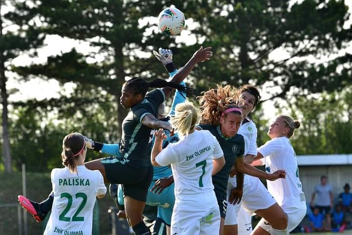 Commanding Comeback for Desire Oparanozie as Ashleigh Plumptre makes debut for the Super Falcons.