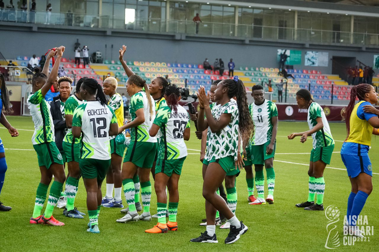 Monday gifts Nigeria precious victory on opening day!