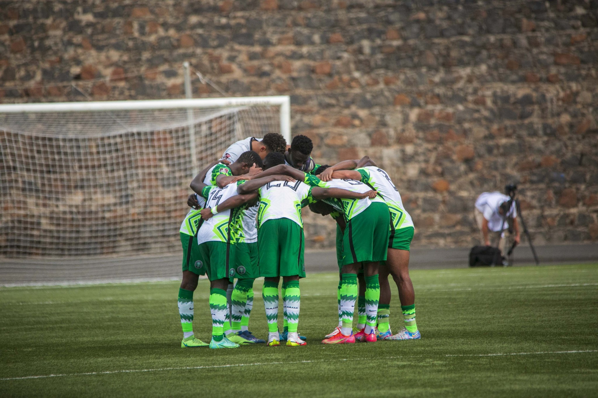 Qatar 2022 Race: Super Eagles edge Blue Sharks, stay firm on top of Group C