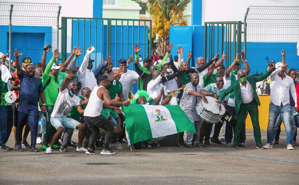 Pinnick praises Super Eagles on taking firm control of World Cup qualification group